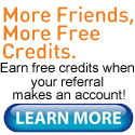 Earn Credits for Referrals